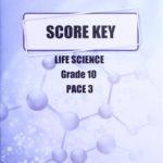 Life Science Gr10 KEY 3 (SA)