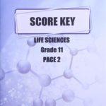 Life Science Gr11 KEY 2 (SA)