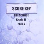 Life Science Gr11 KEY 7 (SA)