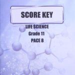 Life Science Gr11 KEY 8 (SA) (01/16)