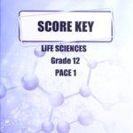 Life Science Gr12 KEY 1 (SA)