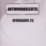 Afrikaans KEY Module 25