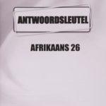 Afrikaans KEY Module 26