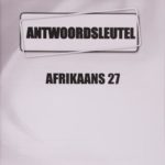 Afrikaans KEY Module 27