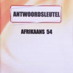 Afrikaans Key 1054 (12/18)