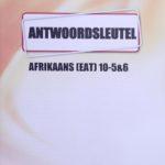 Afrikaans KEY Graad 10 (5&6)