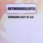 Afrikaans KEY Graad 10 (7&8)
