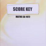 Math SA KEY 1072