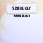 Math SA KEY 1134