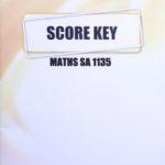 Math SA KEY 1135