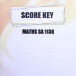 Math SA KEY 1136
