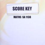 Math SA KEY 1138