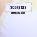 Math SA KEY 1139