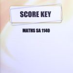 Math SA KEY 1140