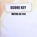 Math SA KEY 1141