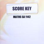 Math SA KEY 1142