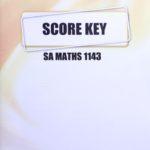 Math SA KEY 1143