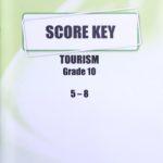 Tourism KEY Grade 10 5-8
