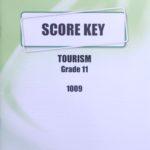 Tourism KEY Grade 11 1009
