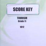 Tourism KEY Grade 11 1012