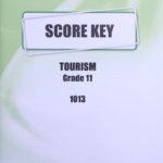 Tourism KEY Grade 11 1013
