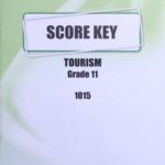 Tourism KEY Grade 11 1015