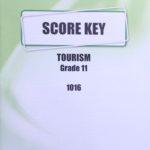 Tourism KEY Grade 11 1016