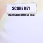 Math Literacy SA KEY 1103