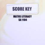 Math Literacy SA KEY 1104