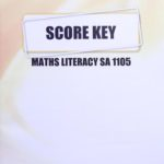 Math Literacy SA KEY 1105 (03/16)