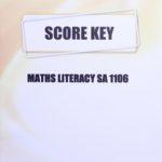 Math Literacy SA KEY 1106
