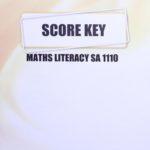 Math Literacy SA KEY 1110