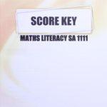 Math Literacy SA KEY 1111