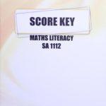 Math Literacy SA KEY 1112 (04/16)