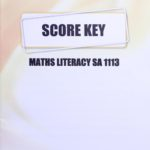 Math Literacy SA KEY 1113