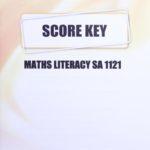 Math Literacy SA KEY 1121