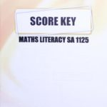 Math Literacy SA KEY 1125