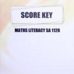 Math Literacy SA KEY 1126