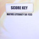 Math Literacy SA KEY 1133