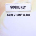 Math Literacy SA KEY 1135