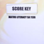 Math Literacy SA KEY 1136