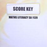 Math Literacy SA KEY 1139