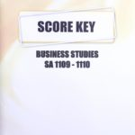 Business Studies SA KEY 1109-1110