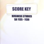 Business Studies SA KEY 1135-1136