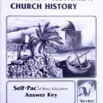 Basic New Testament Church History KEY 121-132