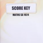 4th Ed. Math KEY 24 (S.A)  (10/18)
