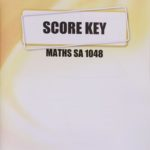 Maths SA KEY 1048 (03/14)