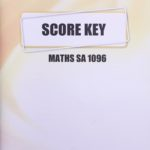 Maths SA KEY 1096 (01/14)