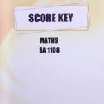 Maths SA KEY 1108 (01/14)