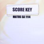 Maths SA KEY 1114 (10/15)